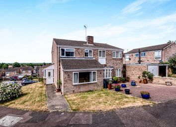 Thumbnail 3 bed semi-detached house for sale in Ramsay Close, Bedford