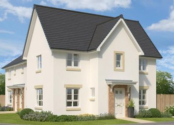 "Thumbnail 3 bedroom semi-detached house for sale in ""Abergeldie"" at Glasgow Road, Kilmarnock"