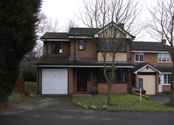 Thumbnail 4 bed detached house to rent in Greenfinch Close, Leegomery, Telford