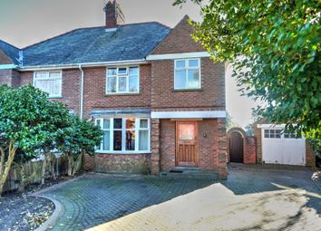 Thumbnail 3 bedroom semi-detached house for sale in Normanston Drive, Lowestoft