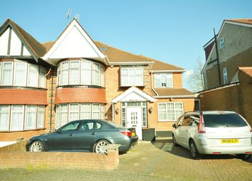 Thumbnail 6 bedroom semi-detached house for sale in Queenscourt, Wembley, Middlesex