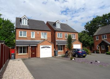Thumbnail 4 bed detached house for sale in Nursery Gardens, Coalville, Leicestershire
