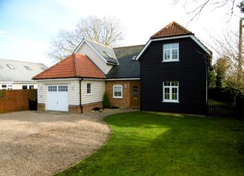 Thumbnail 4 bed detached house to rent in Lavenham Road, Great Waldingfield, Sudbury