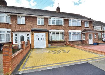 Thumbnail 3 bed terraced house to rent in Sandringham Close, Barkingside, Ilford