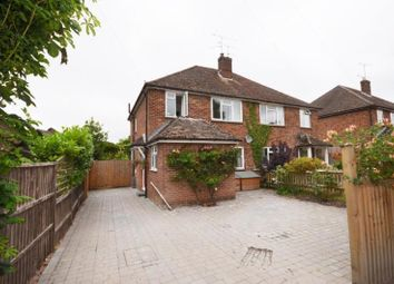 Thumbnail 3 bed semi-detached house to rent in Church Lane, Wrecclesham, Farnham