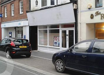 Thumbnail Retail premises to let in Castle Street, Stranraer