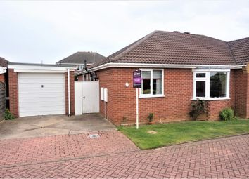 Thumbnail 2 bed semi-detached bungalow for sale in Albertine Court, Waltham, Grimsby