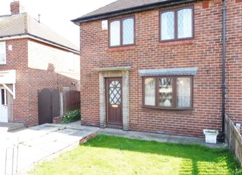 Thumbnail 2 bed semi-detached house for sale in Coleridge Road, Wath Upon Dearne Rotherham