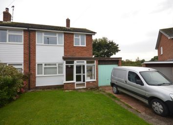 Thumbnail 3 bed semi-detached house to rent in Crockwells Road, Exminster, Exeter, Devon