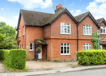 Thumbnail 3 bed semi-detached house for sale in Pirbright Cottages, Fox Corner, Worplesdon, Guildford