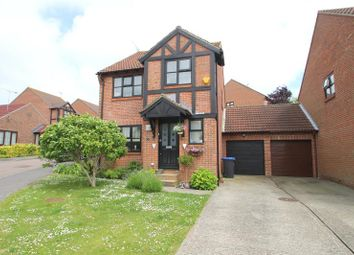Thumbnail 4 bed detached house for sale in Highview, North Sompting, West Sussex