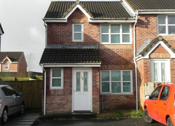 Thumbnail 3 bed semi-detached house to rent in Lon Enfys, Trallwn, Swansea, Mid Glamorgan