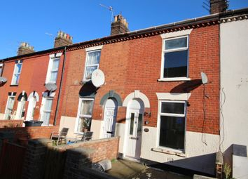 Thumbnail 3 bed terraced house for sale in Elsie Road, Great Yarmouth