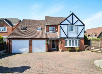 Thumbnail 5 bed detached house for sale in Hawthorne Close, Stanton Hill, Nottinghamshire, Notts