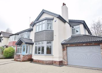 Thumbnail 5 bed semi-detached house for sale in Queens Drive, Mossley Hill, Liverpool