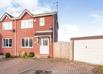 Thumbnail 3 bed semi-detached house to rent in Rose Farm Approach, Altofts, Normanton