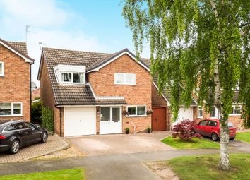 Thumbnail 4 bed detached house for sale in Grange Drive, Castle Donington, Derby