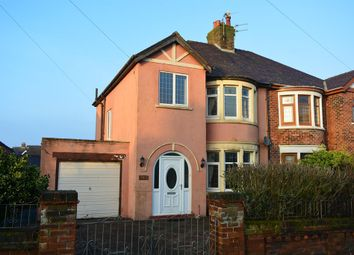 Thumbnail 3 bedroom semi-detached house for sale in Cavendish Road, Bispham, Blackpool