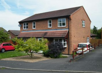 Thumbnail 3 bed semi-detached house for sale in Montrose Close, Grantham