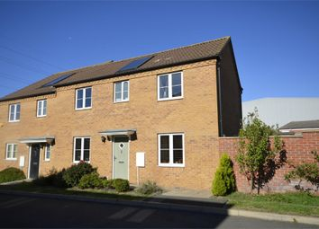 Thumbnail 3 bed semi-detached house for sale in Whitley Close, Irthlingborough, Northamptonshire