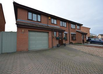 Thumbnail 4 bed semi-detached house for sale in Fortress Road, Carlton Colville, Lowestoft