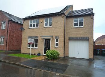 Thumbnail 4 bedroom detached house for sale in Dragoon Road, Coventry