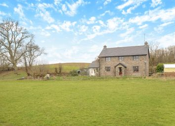 Thumbnail 4 bedroom detached house for sale in Aberyscir, Brecon LD3,