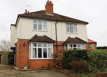 Thumbnail 3 bed semi-detached house to rent in Church End Lane, Tilehurst, Reading