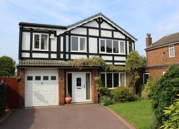Thumbnail 4 bed detached house for sale in Arley Road, Appleton, Warrington, Cheshire