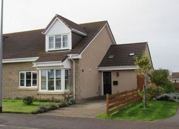 Thumbnail 4 bed semi-detached house for sale in Spires Crescent, Nairn