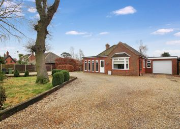 Thumbnail 3 bed bungalow for sale in Poringland Road, Stoke Holy Cross, Norwich