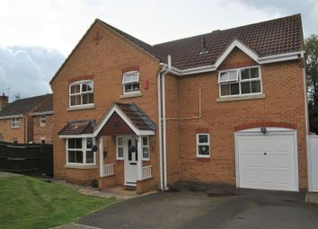 Thumbnail 4 bedroom detached house for sale in Oakie Close, Abbey Meads, Swindon