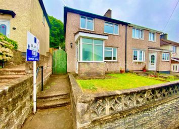 Thumbnail 3 bed semi-detached house for sale in Graig Park Hill, Malpas, Newport.