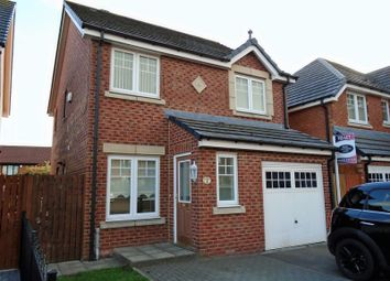 Thumbnail 3 bed detached house to rent in Mowbray Court, Choppington