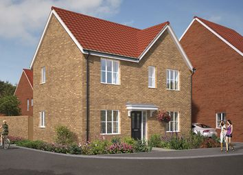"Thumbnail 3 bedroom detached house for sale in ""The Dalton"" at Great Melton Road, Hethersett, Norwich"
