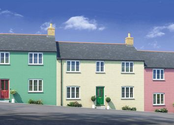 Thumbnail 3 bed terraced house for sale in Newquay