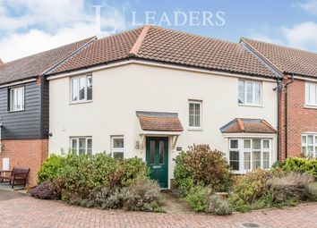Thumbnail 3 bed terraced house to rent in Lime Walk, Bury St Edmunds