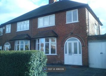 Thumbnail 3 bed semi-detached house to rent in Nottingham, Nottingham