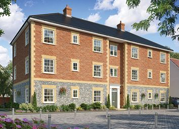 Thumbnail 2 bedroom flat for sale in The Coleman Apartments, Cromer Road, Holt, Norfolk
