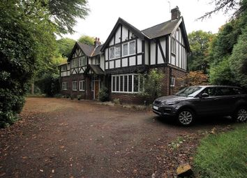 Thumbnail 5 bed detached house for sale in Bramhall Park Road, Stockport