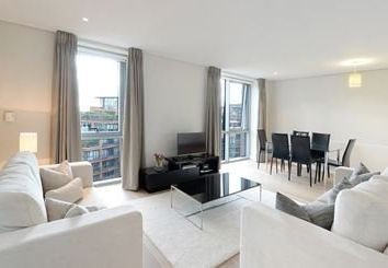 Thumbnail 2 bed flat to rent in Merchant Square East, London
