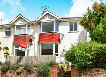 Thumbnail 3 bedroom semi-detached house for sale in Lower Polsham Road, Paignton
