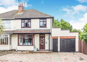 Thumbnail 3 bed semi-detached house for sale in Bell Lane, Narborough