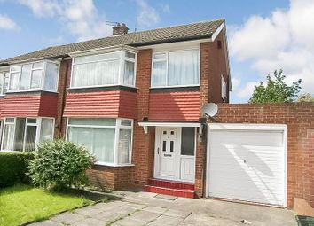 Thumbnail 4 bed semi-detached house to rent in Redesdale Avenue, Newcastle Upon Tyne