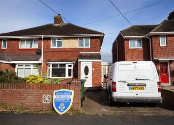 Thumbnail 3 bed semi-detached house for sale in The Crescent, Netley Abbey, Southampton, Hampshire