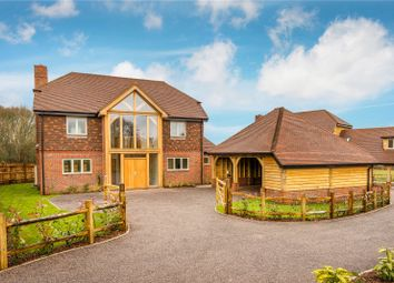 Thumbnail 5 bedroom detached house for sale in Forge Road, Kingsley, Hampshire