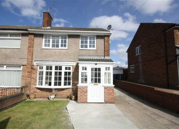 Thumbnail 3 bed semi-detached house to rent in Kirkway, Kirk Ella, Hull