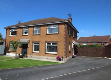 Thumbnail 3 bed semi-detached house for sale in Stratford Rise, Bangor