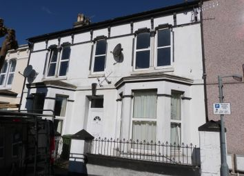 Thumbnail 6 bed terraced house for sale in Belgrave Road, Mutley, Plymouth