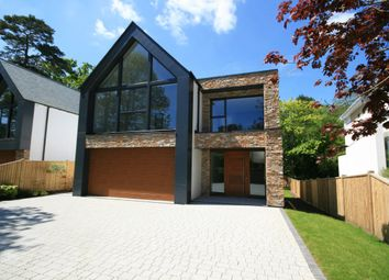 Thumbnail 4 bed detached house for sale in Lakeside Road, Branksome Park, Poole